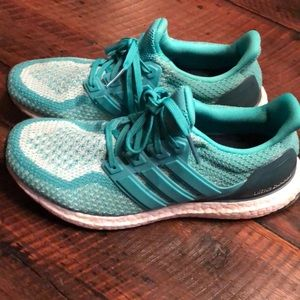 Adidas Ladies Ultra Boost athletic shoes